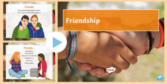 How to Be a Good Friend PowerPoint - be a friend, friend powerpoint, being a freind, friend