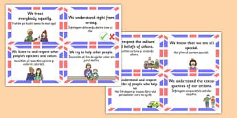 British Value Cards Romanian Translation - romanian, british values, cards, values