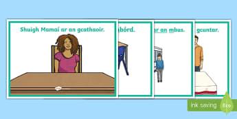 Gramadach na Gaeilge, Ar An Display Posters