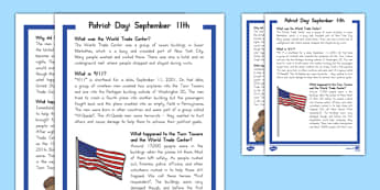 September 11th Fact File
