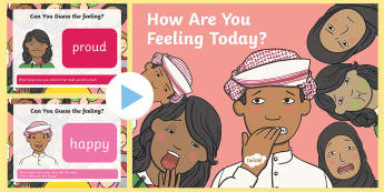 Feelings PowerPoint - Feelings, emotions, PowerPoint, UAE