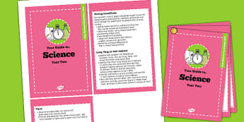 2014 Curriculum Cards Year 2 Science - new curriculum, visual aid