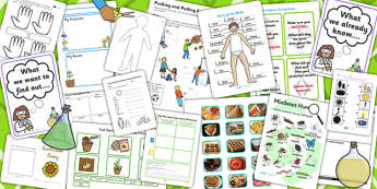 KS1 Teaching Assistant Science Resource Pack - Assistant, Pack