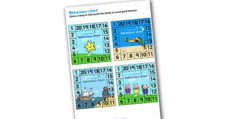 Behaviour Charts - behaviour charts, behaviour chart, good behaviour chart, small behaviour charts, square behaviour charts, themed behaviour charts