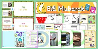 Eid KS1 Lesson Plan Ideas and Resource Pack - Eid, Lesson, Plan