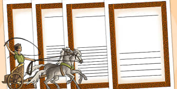 Ancient Greece Writing Frames - ancient greece, greece, writing