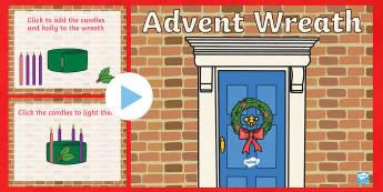 Advent Wreath PowerPoint
