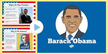 Barack Obama An Informative PowerPoint - US Resources, President, Obama, K, 1st, 2nd, 3rd, 4th, 5th, Black History