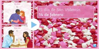 Valentine's Day Vocabulary PowerPoint - Valentines Day, 14th February, powerpoint, vocabulary, expressions