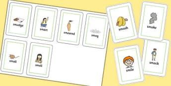 SM Flash Cards - sm sound, flash cards, flash, cards, sound, sm, sen