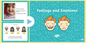 Feelings PowerPoint - powerpoint, feelings, emotions, sad, scared, angry, happy, discussion starter powerpoint, feelings discussion starter, discussions