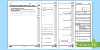 Llyfryn Asesiadau Mathemateg Gweithdrefnol Blwyddyn 3 Tymor 2 - Procedural Examples, tests, test, Numeracy Tests, procedural,  Years 5, years 6, Deunyddiau Sampl Gw