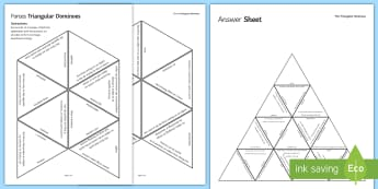Forces Triangular Dominoes - Tarsia, Dominoes, Forces, Push, Pull, Gravity, Moments, Hooke's Law, Weight, Force Meter