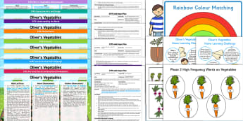 EYFS Bumper Planning Pack - Oliver's Vegetables, Alison Bartlett and Vivian French, early years planning, continuous provision,