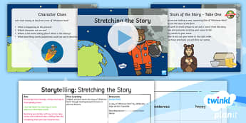 PlanIt Y1 Space: To Support Teaching on Whatever Next! Lesson Pack Storytelling (4) - Planit English, Space, Whatever Next, whatever next?, bears, moon, Jill Murphy, Narrative, Stories w