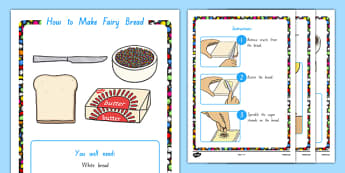 Fairy Bread Recipe