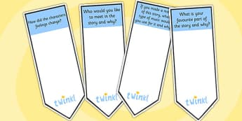 AF3 Guided Reading Question Bookmarks - assessment focus 3, af3 bookmarks, assessment focus reading, assessment focus 3 bookmarks, question bookmarks, af3
