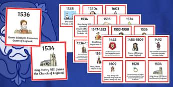 Tudor Timeline Ordering Activity - tudor, timeline, ordering, activity, order, history