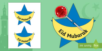 Eid Lollipop Gift Activity - Eid al-Fitr,KS1, Eid, 25th June 2017, islam, muslim, festival, ramadan,