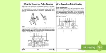 Catholic What to Expect on Palm Sunday Guide - NI, Easter, Catholic, Holy Week, Palm Sunday, Passion, Jerusalem, Mass, Northern Ireland