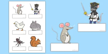 Bandit Rat Themed Editable Self Registration - highway rat, bandit rat, julia donaldson, story book, self-registration