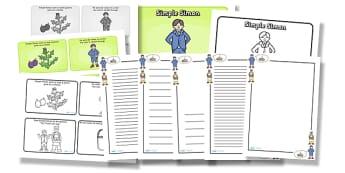 Simple Simon Resource Pack - simple simon, resource pack, pack of resources, themed resource pack, simple simon pack, resources, nursery rhymes