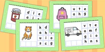 CVC Words A Spelling Flipchart - CVC words, spellings, flipchart