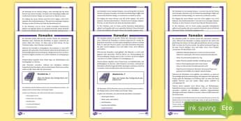 Ramadan Arbeitsblätter unterschiedliche Schwierigkeitsgrade - Ramadan, Arbeitsblätter, Informationsblätter, Infos, Islam, Muslime, Fasten, Fastenmonat, Moschee,