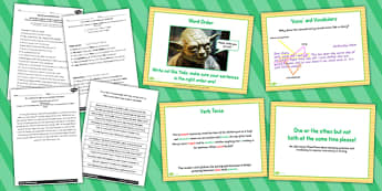 Proposing Changes to Grammar Teaching Idea and Resource Pack LKS2