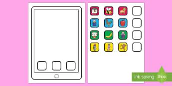 Create an iPad Cut Out Activity - iPad, tablet, smartphone, apple ipad, technology