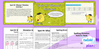 PlanIt Y3 Term 1A Assess and Review Spelling Pack