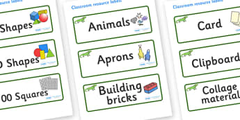Iguana Themed Editable Classroom Resource Labels - Themed Label template, Resource Label, Name Labels, Editable Labels, Drawer Labels, KS1 Labels, Foundation Labels, Foundation Stage Labels, Teaching Labels, Resource Labels, Tray Labels, Printable la