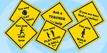 Yellow Safety Display Signs - safety, safe, saftey signs, display