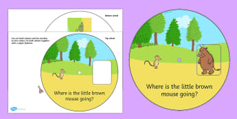 The Gruffalo Story Wheel - the gruffalo, story wheel, the gruffalo strory, reading aid, writing aid, the gruffalo wheel, story books, reading, literacy