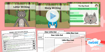 PlanIt Y1 Traditional Tales: Little Red Riding Hood WriteIt Pack
