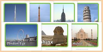 Tourist Attraction Display Photos - Holiday, holidays, attraction, destination, photo, display photo, London, Paris, Egypt, America
