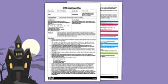 EYFS Phonics Potion Adult Input Plan