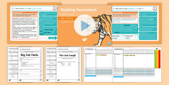 Year 1 Term 1 Paper 1 Reading Assessment Bumper Resource Pack - Year 1 Reading Assessment Guided Lesson PowerPoints, read, test, powerpoint, year 1, Y1, comprehensi