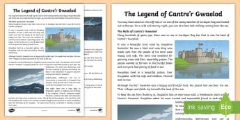 The Legend of Cantre'r Gwaelod - Welsh Stories,Legends, Branwen, branwen, Brân the Blessed, Bendigeidfran, Brân Fendigaidd,Martholw