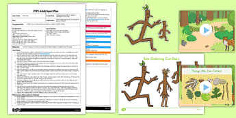 Measuring Stick Men EYFS Adult Input Plan - measuring, stick men, support