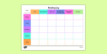 Australia - Reading Log Activity Sheet - australia, reading log, guided reading, read, log, activity, sheet, worksheet