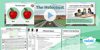 PlanIt History UKS2 World War II Lesson 5: The Holocaust Lesson Pack