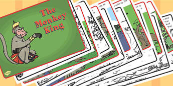 The Monkey King Story - monkey king, story, religion, buddhism