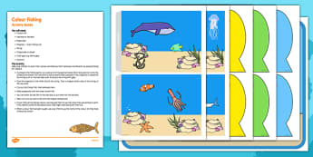Colour Fishing Busy Bag Resource Pack for Parents