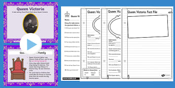 Queen Victoria Task Setter PowerPoint and Activity Pack - activity