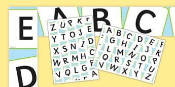 Word Game Display Pack Word Tile Display Borders - word game