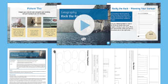 Rocky the Rock Lesson Pack - Journey of a river, source, mouth, tributary, confluence, rivers, watershed, basin, floodplain, weat