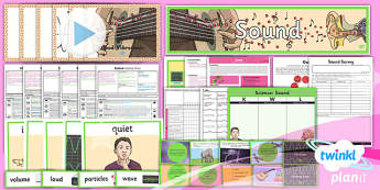 PlanIt - Science Year 4 - Sound Unit Pack