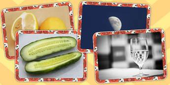 Real Life Halves Display Photos - photo, displays, fractions