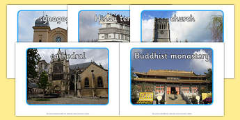 Places of Worship Display Photos - worship, religion, RE, display